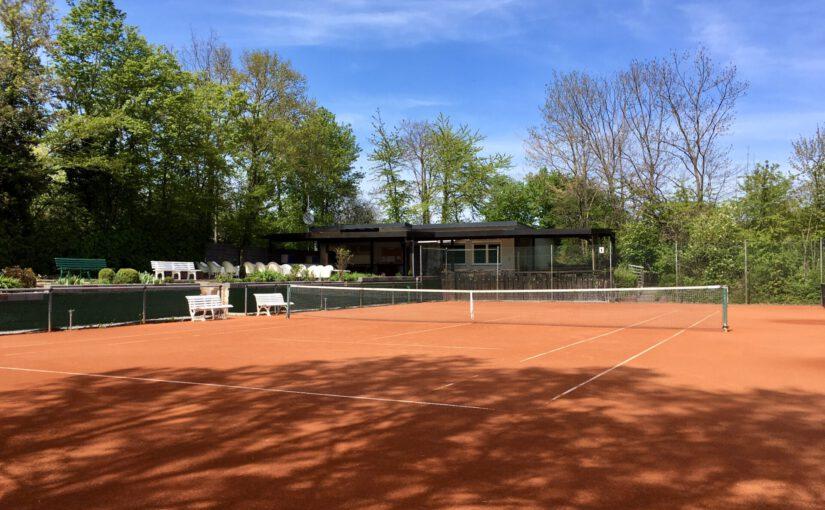 Eröffnung der Tennis- und Bouleplätze